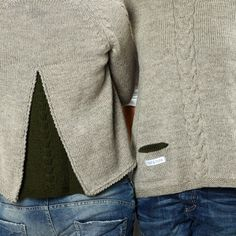 2015 - Zopf & Falte … einfach schön gemacht … Knitwear Fashion, Pullover, Chrochet, Men Sweater, Patterns, Sewing, Knitting, Womens Fashion, Sweaters