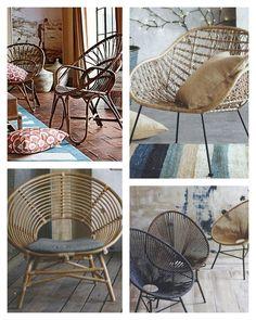 Rattan U0026 Jute Chairs