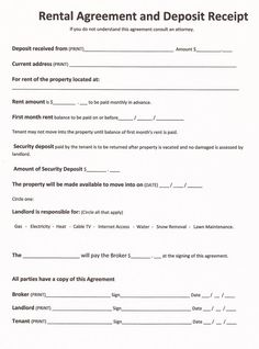 Elegant Free Rental Forms To Print | Free And Printable Rental Agreement Form    RC123.com To Lease Agreement Copy