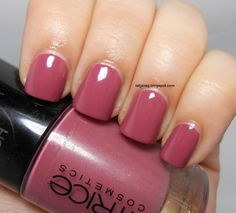 Catrice Welcome to Roosywood nail polish / I love berry colors like this, perfect for fall ♡