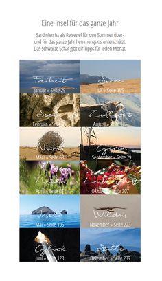 Ein Reisebuch aus Sardinien für das ganze Jahr! Un libro di viaggio in Sardegna per tutto l'anno!