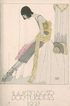 1921 - Ilustração Portuguesa  Flapper