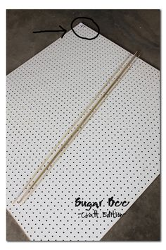 Thread Rack - tutorial - Sugar Bee Crafts
