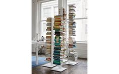 """Sapien Bookcase - Short (I like the use of these as a """"room divider"""". We can consider as a way to separate the living space a bit from the dining room. Maybe only 2 or 3 as sculptural elements."""