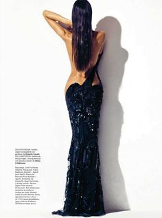 Izabel Goulart by Nico for Harper's #Bazaar Spain, April 2012.