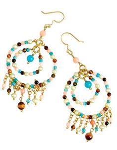 Love dangly earrings...