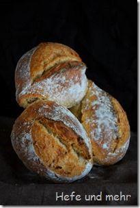 Einkorn-Wirbel, Sauerteig und Hefe, mit Einkorn, Brühstück und Weizenmehl