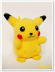 Amigurumi on Pinterest Amigurumi, Pokemon and Pikachu