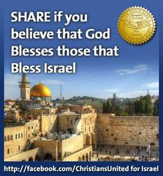 Israel Long live Israel and the covenant between her and YHWH Shalom to you.