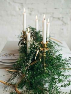 2017 Wedding Trends: Garden Grandeur inspiration and wedding hairstyles - table decorations