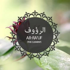 Ar-Ra'uf,The Clement,Islam,Muslim,99 Names
