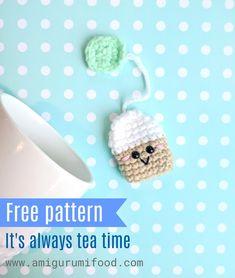Crochet Bookmark Pattern, Crochet Bookmarks, Crochet Amigurumi Free Patterns, Crochet Patterns Amigurumi, Crochet Food, Crochet Gifts, Cute Crochet, Crochet For Kids, Crochet Lace