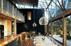 屋内でも屋外のような光が入る。