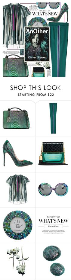 """Going on chic emerald head to toe,thats all!"" by jelena-bozovic-1 ❤ liked on Polyvore featuring Mark Cross, Calvin Klein 205W39NYC, Marc Jacobs, Kolor, Emilio Pucci, NOVICA and emeraldgreen"