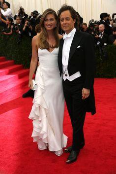 Lauren Bush and David Lauren in Ralph Lauren