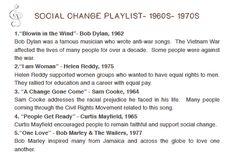 Social Change Playlist