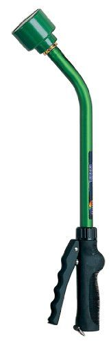 Dramm Touch-N-Flow Premium Rain Watering Wand 16-Inch Length - Green 12864