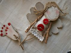 zima – nz-insp – album na Rajčeti Felt Fabric, Fabric Dolls, Paper Dolls, Art Dolls, Diy And Crafts, Crafts For Kids, Arts And Crafts, Paper Crafts, Christmas Angels