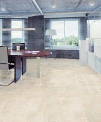 Bedroom flooring modern cork floor tiles natural color and grain ...