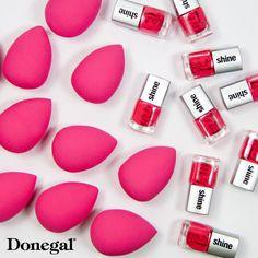 Blending Sponge&Beauty Shine by Donegal. www.donegal.com.pl pink#makeup#nailpolish#nailart#