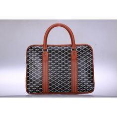 Sac à Main Goyard GY006 Noir / Kaki 1.Marque  : goyard 2.Style  : Sac à Main Goyard 3.couleurs :Noir / Kaki 4.Matériel :PVC avec cuir 5.Taille: w37 x H26x d4.4 cm