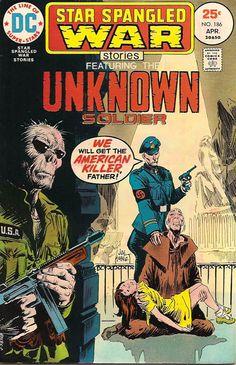 Star Spangled War Stories #186 cover Joe Kubert