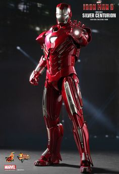 Hot Toys : Iron Man 3 - Silver Centurion (Mark XXXIII) 1/6th scale collectible figurine