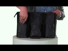 Thirty-One Zip-Top Organizing Utility Tote - YouTube