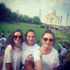 #mytajmemory Indien 2015  by julia_hofbauer_ #IncredibleIndia #tajmahal
