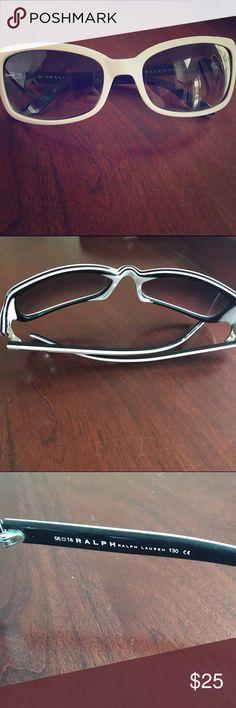 Ralph Lauren white and black sunglassss Ralph Lauren White and Black Sunglasses Ralph Lauren Accessories Sunglasses