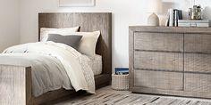 Thayer Platform Bed Collection | RH Baby & Child