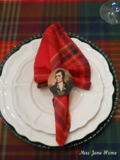Burns Night Celebration, traditionally a Scottish celebration. January 25th is celebrated throughout the world as Robert Burns birthday