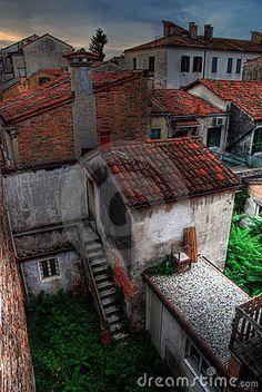 Venice roof tops