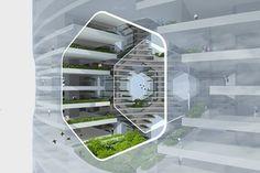 Архитекторы предложили концепт вертикального города на воде
