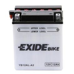 Exide YB12AL-A (YB12-ALA, YB12ALA) Motorbike Battery only £23.09  https://electroquestuk.com/products/motorcycle-batteries/exide-yb12al-a-yb12-ala-yb12ala-motorbike-battery.html