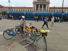 Even though the blue trams are symbol of Zagreb, we suggest Lobagola's bikes and Bakfiets to take you to the picturesque places like the main railway station.  #lobagolabnb #zagreb #croatia #bike #tours #lobagolaadventure #bicycle #cycling #yellowelephant #1city2wheels #bikeZg #lobagolatours