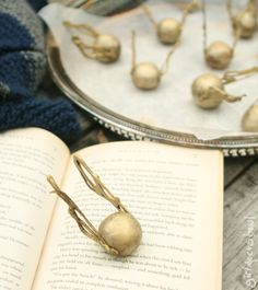 golden snitch truffles ~ yum