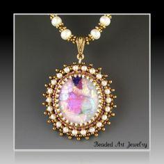 Beaded Art Jewelry on Etsy