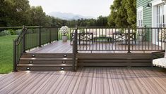 Stair Railing Kits, Glass Railing System, Deck Railings, Stair Components, Wood Handrail, White Stairs, New Staircase, Wood Steps, Wooden Stairs