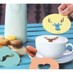 DOIY Hip Coffee Stencils