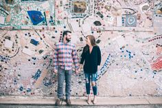 Authentic Philadelphia Engagement Session by GraceD Photography Philly In Love