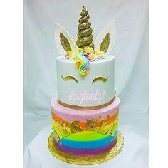 Birthday Candles, Birthday Cake, Unicorn, Desserts, Food, Tailgate Desserts, Birthday Cakes, Deserts, Essen