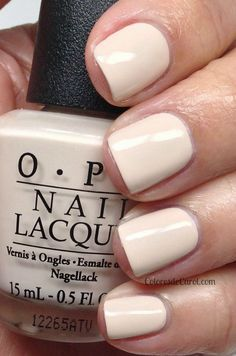 O.P.I's  my vampire is buff: finally found the perfect nude! (And its an opaque formulation )