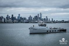 Sea Shepherd patrol vessel The MV Ocean Warrior arrives in Melbourne, Australia ahead of its debut Antarctic campaign, Operation Nemesis.  Image: Nelli Huié