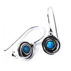 Cercei argint 925 Israel spirale cu opal imperial - Be Nature Israel, Opal, Jewellery, Big, Nature, Vintage, Jewels, Naturaleza, Jewelry Shop