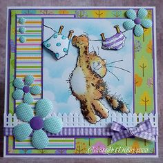 Cute card - love the MS picket fence to ground the image
