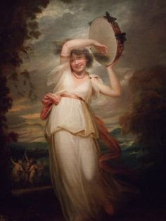 little augury , Portrait of Emily St.Clare by John Hoppner at the Nelson-Atkins