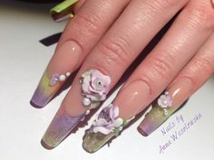 Aromantic Flowers - acrylic 3D - Nailpro