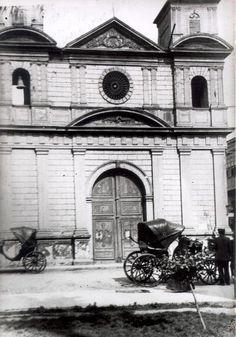 Iglesia de la Caridad (derruida para la construccion del Congreso de la Republica)