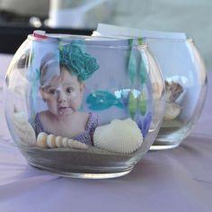 más y más manualidades: Crea hermosos centros de mesa con fotos